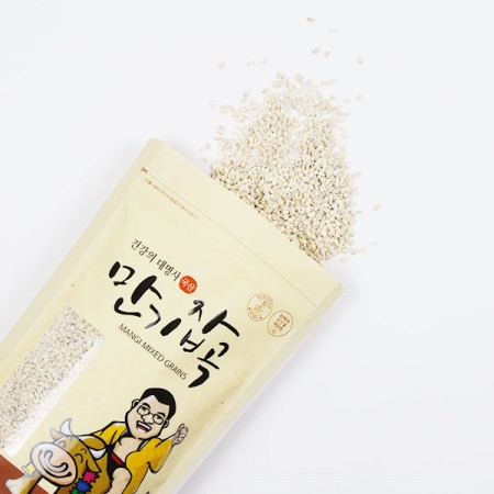 겉보리쌀(늘보리쌀)